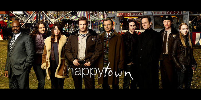 Happy town cast