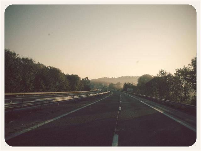 fall's road