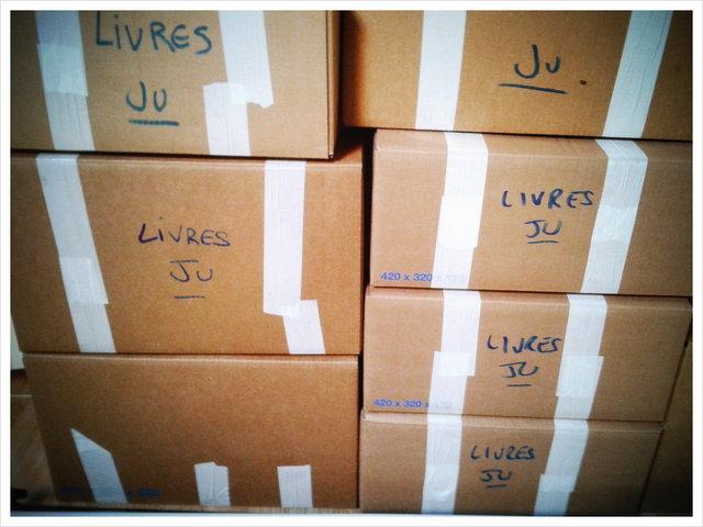 books boxes