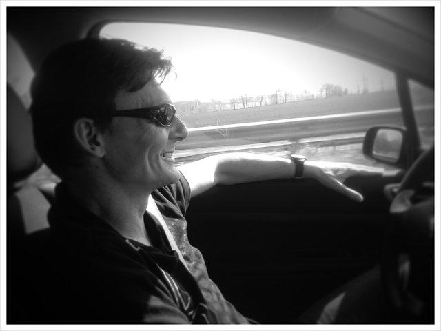 Yves drives