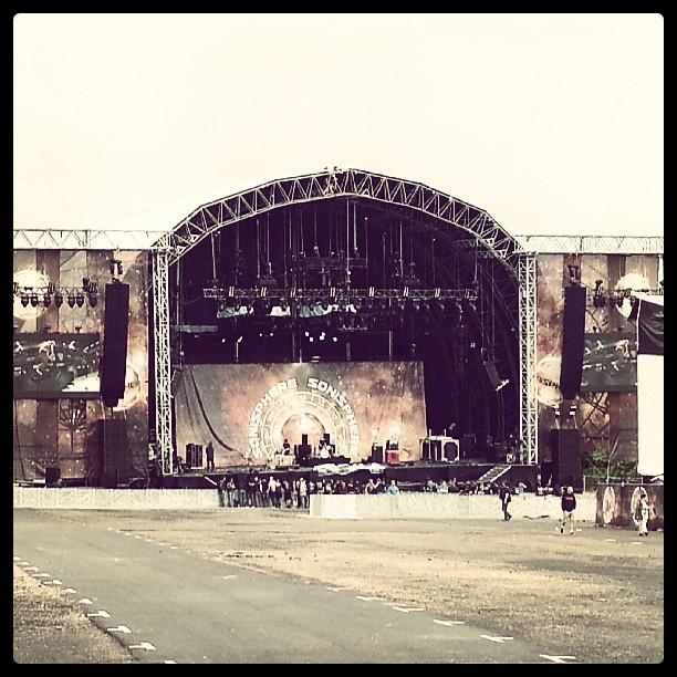 Sonisphere stage
