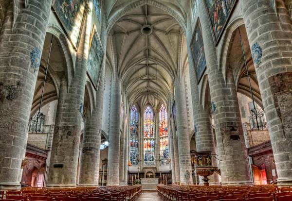Notre Dame Dole HDR