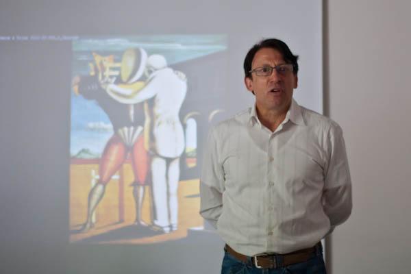 230411 conf P.Litzler 3 Conférence sur le travail dAuteur avec Philippe Litzler